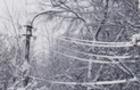 Через налипання мокрого снігу без електропостачання залишились 7 населених пунктів області