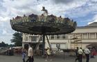Карусельний монстр накрив площу Театральну в Ужгороді