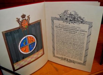 Головні архіваріуси України та Угорщини презентували на Закарпатті історичний документ ХІХ століття