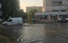 З'явилися фото з місця масштабної аварії на водопроводі в Ужгороді (ФОТО)