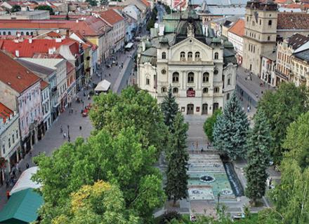 Словацьке місто-побратим Ужгорода отримає грант на 4,5 млн. євро для реалізації інноваційних проектів