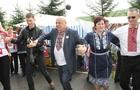 Як керівники Закарпаття на кордоні зі Словаччиною танцювали (ФОТО)