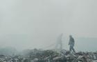 Біля Іршави горить сміттєзвалище (ФОТО)