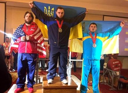 Як закарпатський пауерліфтер став призером Чемпіонату Світу