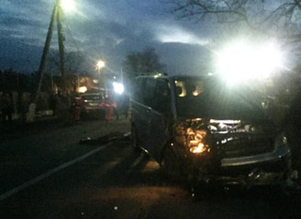 На Ужгородщині сталася автоаварія з двома постраждалими