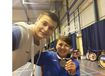 Ужгородська фехтувальниця здобула срібло Кубка світу