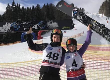 Закарпатські сноубордисти знову вибороли медалі на Чемпіонаті України
