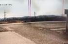 Камери відеоспостереження зафіксували потрійну ДТП біля Мукачева (ВІДЕО)