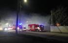 Пожежа сталася у новому районі Ужгорода (ВІДЕО)
