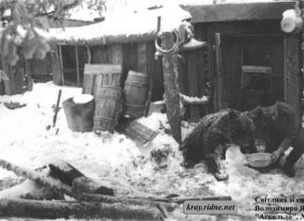 Зворушлива історія про дружбу ведмедя та вояка УПА