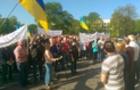 Сотні селян Ужгородщини заблокували будівлю Закарпатської ОДА (ВІДЕО)