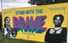 В Ірландії на муралі зобразили закарпатську активістку руху лесбіянок-гомосексуалістів
