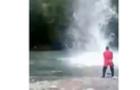 Як на одній з гірських річок браконьєри глушили рибу (ВІДЕО)