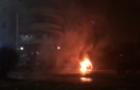 Мерседес, що згорів сьогодні вночі в Ужгороді, належить Надзвичайному послу