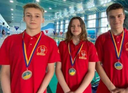 На юнацькому Чемпіонаті України з плавання закарпатські юнаки здобули 4 медалі
