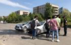 В Ужгороді п'яний водій протаранив авто зі студентами-індусами